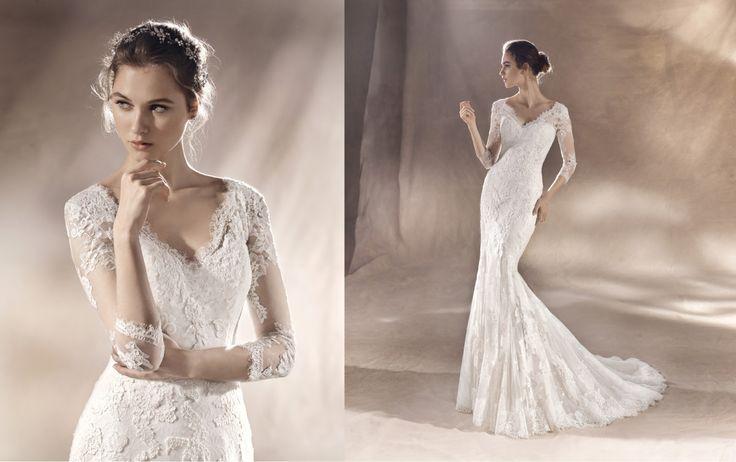 809274d4d533 Vacker bröllopsklänning med djup rygg, stl S, Köp & Sälj ...
