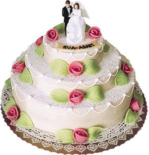 bröllopstårta göra själv