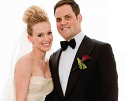 Hilary Duff och Mike Comrie