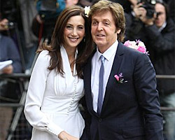 Paul McCartney och Nancy Shevell