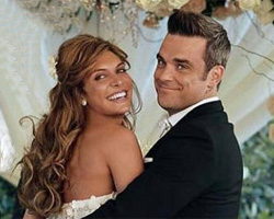 Robbie Williams och Ayda Field