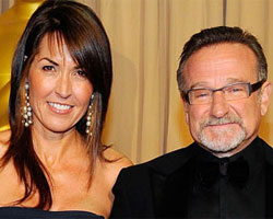 Susan Schneider och Robin Williams