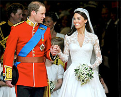 Prins William och Catherine Middleton
