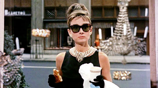 Stylad som Audrey Hepburn i filmen Breakfast at Tiffany's?