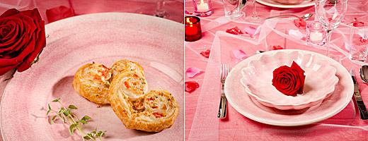 romantisk middag hemma för två recept