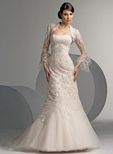f18c1c166a37 Min brudklänning fram utan bolero - BröllopsGuiden