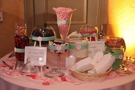 godis till bröllop