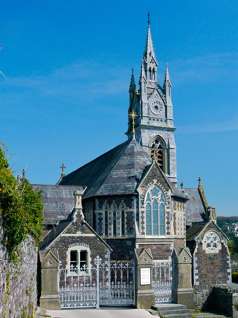 sacred heart church monkstown