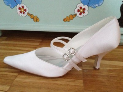 White Perfect shoes