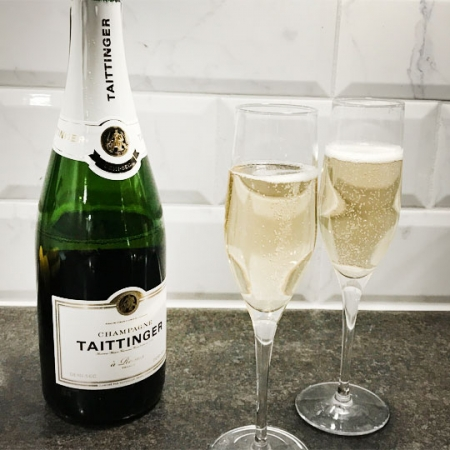 Tattinger demi-sec